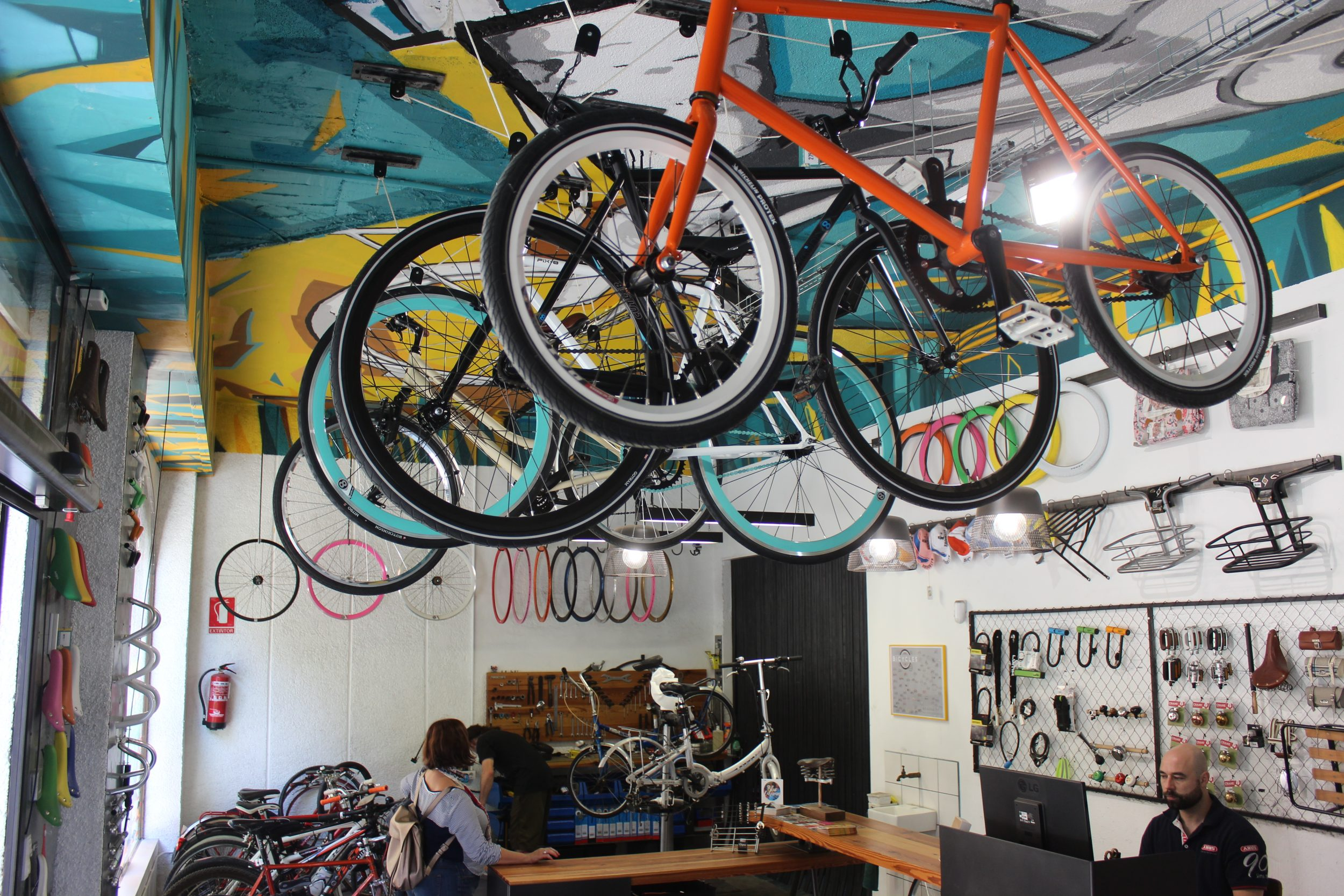 Bike shop Valencia