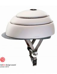 Casco plegable blanco para patinete