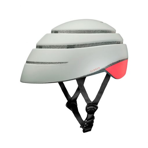 Casco plegable para patinete electrico coral